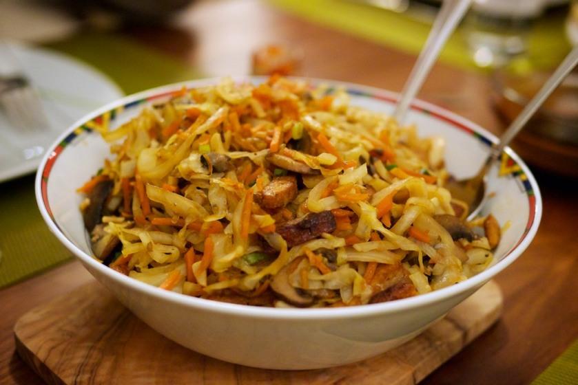 Chinesisches Tofu-Gemüse