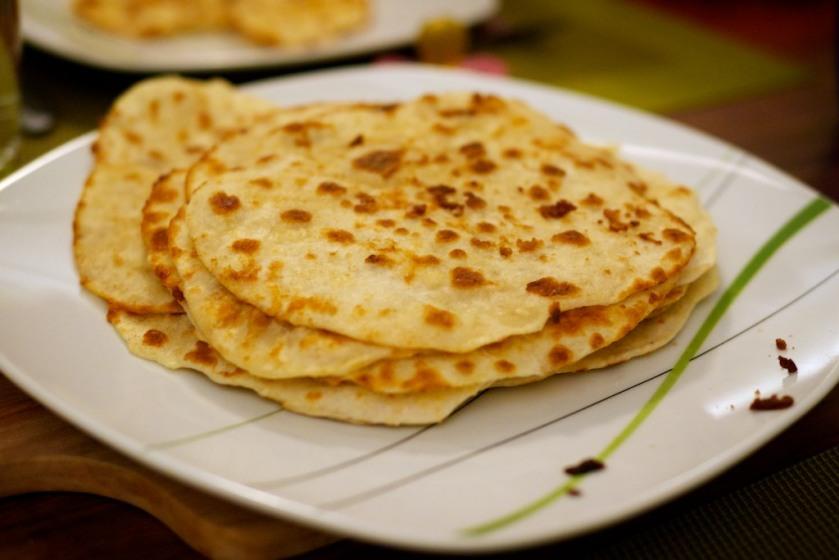 Selbst gemachte Pancakes