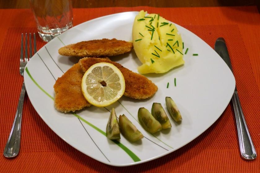 Vegane Schnitzel