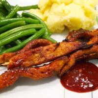Vegane Barbecue-Grillspieße