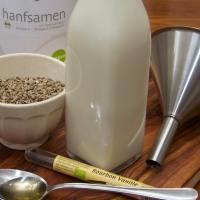 Hanf - Vom Samen zur leckeren und super gesunden Milch