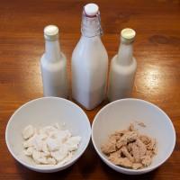 Mandelmilch selbst gemacht - einfach und lecker