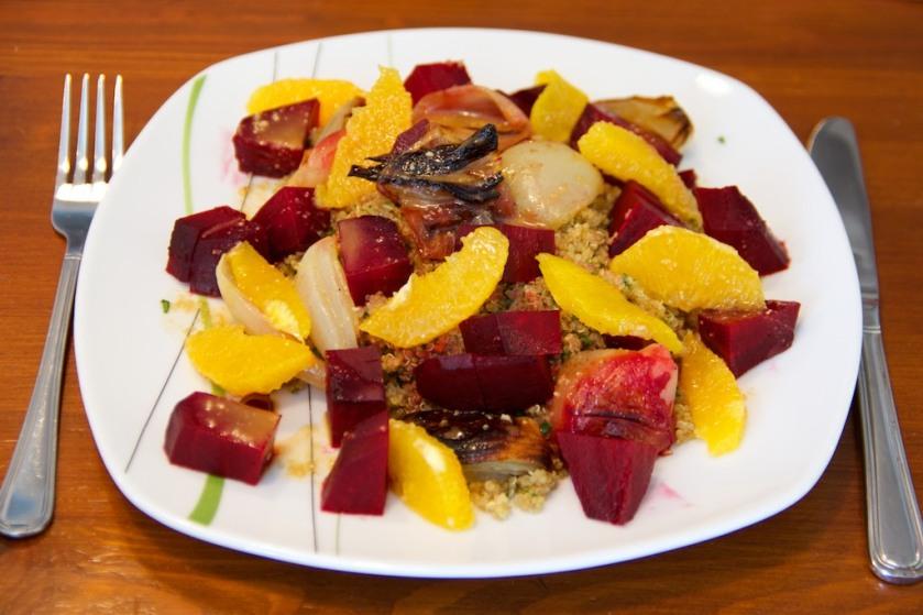 Rote Beete - Quinoa Salat (1)