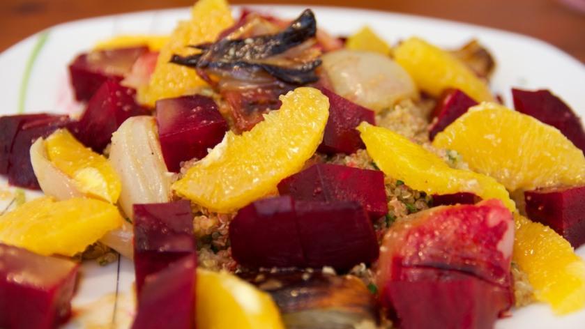 Rote Beete - Quinoa Salat (2)